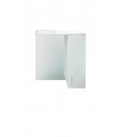 Зеркало-шкафчик Erica 60 без подсветки, белый