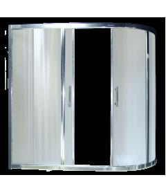 Душевая штора RB 150AZUR-C 80x150x150 (матовая)