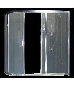 Душевая штора RB 150AZUR-G 80x150x150 (серая)