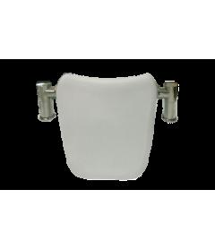 Подголовник SY-2 В белый на металлических ножках (для TUDOR, FANKE, NORWAY)