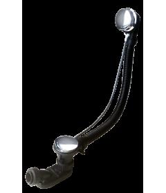 Слив-перелив для ванны полуавтомат 80 см